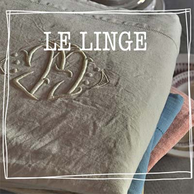 linge - location linge vintage